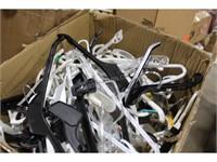 Pallet Lot of Plastic Hangers