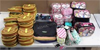 Lot of Assorted Lunch Boxes and Pencil Cases