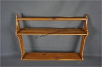 Natural Red Cedar Wall Shelf