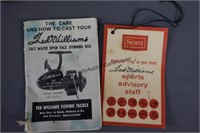 Zebco Cardinal and Ted Williams 410 Fishing Reels