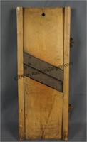 Vintage Wood Sour Kraut and Slaw Cutter