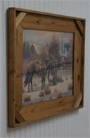 John Stanford Cowboy's Early Light Framed Print