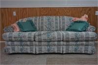 Schweiger Floral Upholstered Sofa