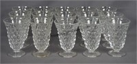 American Fostoria 10pc. Ice Tea Glass Set