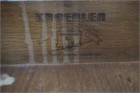 Kroehler Mid Century Walnut Vanity