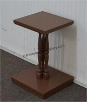 Hand Made Pine Lamp Table Plant Stand