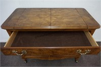 Queen Anne Formal Sideboard Server on Casters