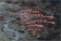 Thomas Kinkade S/N Canvas Print Evening Majesty