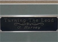 G. Harvey S/N Print Turning the Lead Framed