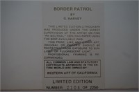 G. Harvey S/N Print Border Patrol