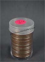 1978-D BU Roll of 20 Eisenhower Dollars