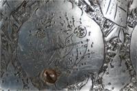 Vintage Hand Engraved Aluminum Hardhat