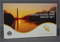 2017 U.S. Mint Proof Cameo 10 Piece Coin Set