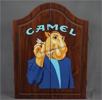 Joe Camel Dartboard and Cabinet