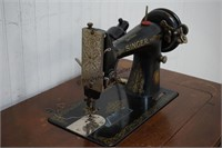 Singer 99K Sewing Machine and Cabinet