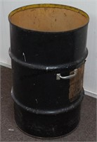 55 Gallon Drum with Top Cutout and Handles