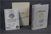 Super Bowl 34 .999 Silver Game Coin Commemorative