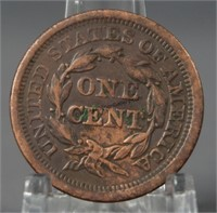 1850 Braided Hair Large Cent