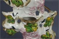 Mid Century Japanese Geisha Girl Spill Vase Figure