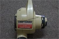 Craftsman Electric 2 Speed Power Blower