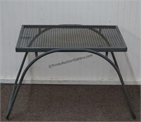 Metal and Iron Mesh Plant Garden Table