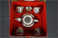 Chinese 7 Piece Miniature Tea Set in Box
