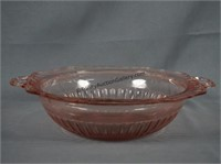 Anchor Hocking Mayfair Open Rose Pink 10in. Bowl