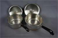 Revere Ware 1801 Copper Bottom Stainless Cookware