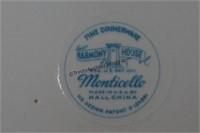 1940's Harmony House Monticello 93pc. China Set