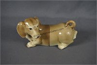Fitz and Floyd Porcelain Dachshund Bookends