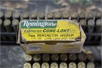 Lot of Remington 7mm Rem. Magnum Ammunition