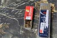 Lot of Mixed .22 Short Ammunition