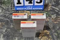 3 Boxes Winchester .25-06 Ammunition