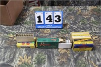 Lot of Mixed .250 Savage Ammunition and Brass