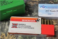 Lot of Mixed .300 Winchester Magnum Ammunition