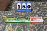 Lot of Mixed .264 Win. Magnum Ammunition