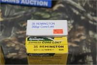 Lot of Mixed .35 Remington Ammunition