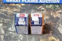 2 Boxes CCI .22WMR Ammuntion