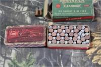 Lot of Mixed Vintage .32 Short Rim Fire Ammunition