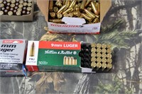 Lot of Mixed 9mm Luger Ammunition