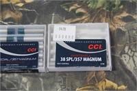 Lot of CCI .38/.357 Shot Shells
