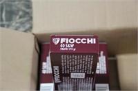5 Boxes Fiocchi .40 S&W Ammunition