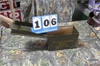 US Military .45 ACP Ammo & Ammo Box