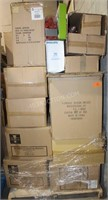Pallet Lot of Mostly New Case Lot Decor Items