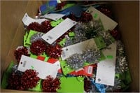 Pallet Lot of Mostly New Mixed Christmas Decor