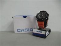 Casio Watch MCW-100H-4AV Orange Strap