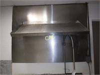 Stianless Steel Sink & Shelf