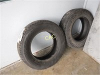 2pc Tires-1 New & 1 Used