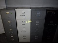 4pc Filing Cabinets