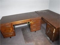 2pc Wood Desks